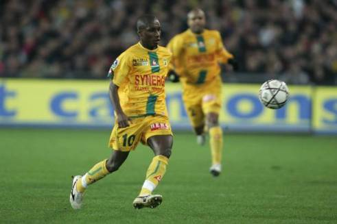 Gilles Yapi Yapo Academie de soccer jmg avec FC Nantes