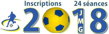 Inscriptions 24 seances academie de soccer methodologie jmg