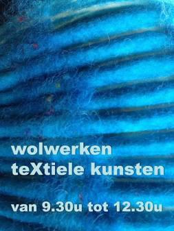 ZaterdagVM: Wolwerken bij textiele kunsten