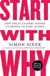 start with why by simon sinek - book cover