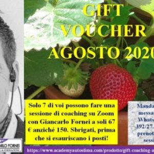 Gift Call Coaching Agosto 2020