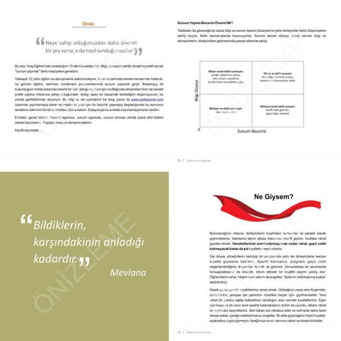Etkili Sunum Teknikleri e-Kitap