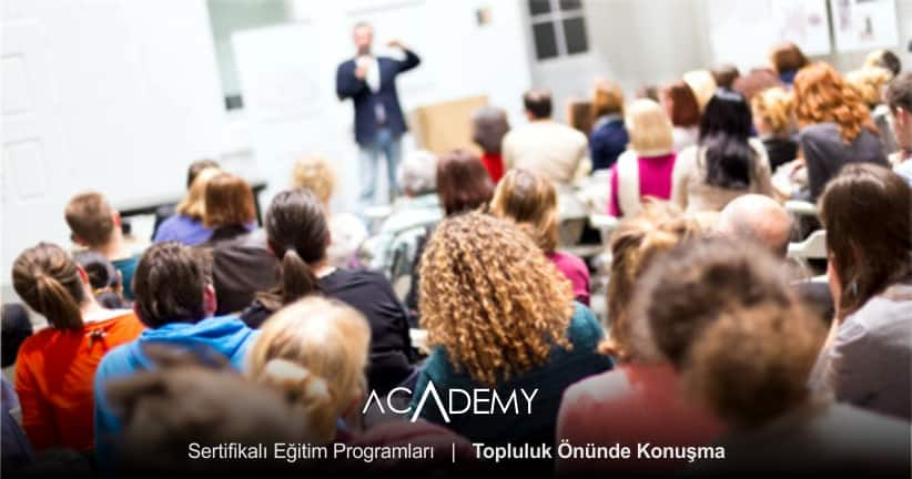 Topluluk Önünde Konuşma Eğitimi İstanbul