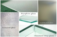Different Types of Glass for Shower Doors