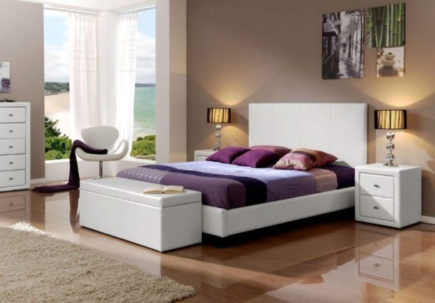 Table-Lamp-For-Bedroom-Apartments-With-Modern-White-Furniture-And-Popular-Wall-Paint-Colors-2018-955x666.jpg