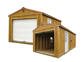 12×20 Portable Garage