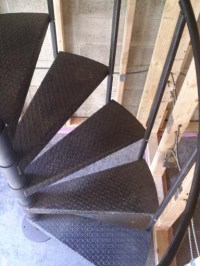Spiral Staircase: Open Riser Stairs in CT and NYC | Acadia ...