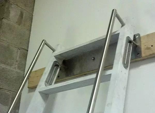 Custom Ship Ladders Narrow  Alternating Tread Stair