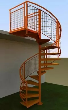 Outdoor Spiral Stairs Exterior Staircases In Ct Nyc Acadia   Circular Stairs For Sale   Rustic   Ornate   Interior   Shop   Slide