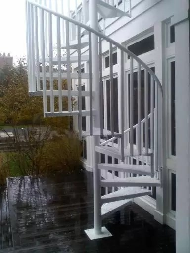 Outdoor Spiral Stairs Amp Exterior Staircases In Ct Amp Nyc