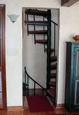 Spiral Staircase Kits Diy Wood Exterior Stair Kits In Nyc Ct | Diy Outdoor Spiral Staircase | Simple | 12 Foot | Metal | Do It Yourself Diy | Curved