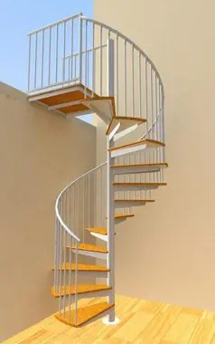 Custom Spiral Stairs Spiral Staircase Design In Ct Nyc   8 Foot Spiral Staircase   Stair Railing   Winding Staircase   Stair Parts   Wood   Modern Staircase