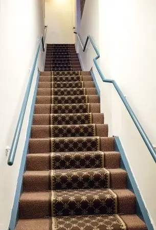How To Carpet Your Stair Treads Acadia Stairs   Cost To Carpet Stairs   Stair Railing   Handrail   Carpet Runners   Carpet Flooring   Anderson Tuftex