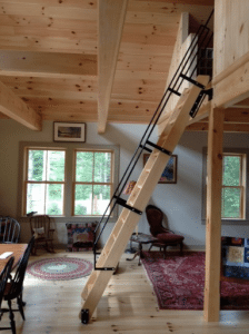 Maximize Your Space with a Ship Ladder  Acadia Stairs