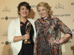 Les Soeurs Boulay succèdent à Lisa LeBlanc à titre de découverte de l'année. Jean-Marc Couture était en nomination dans cette catégorie - La Presse Canadienne: Bruce Graham