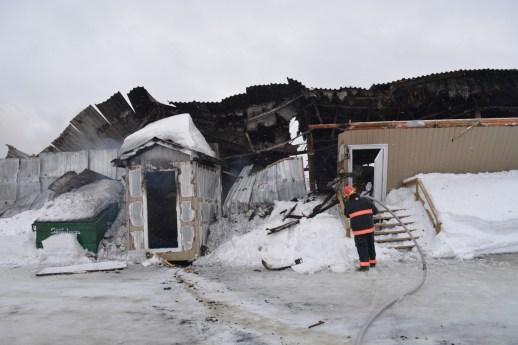 L'aréna de Saint-Arthur a été détruit dans un incendie en mars. - Archives: Acadie Nouvelle: Jean-François Boisvert