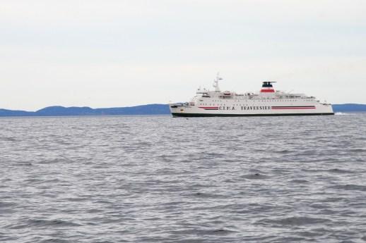 Le traversier vers Îles-de-la-Madeleine. - Archives