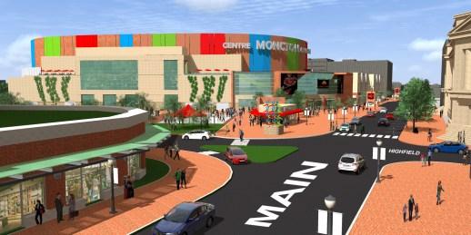 Le concept proposé pour le nouveau centre. - Gracieuseté