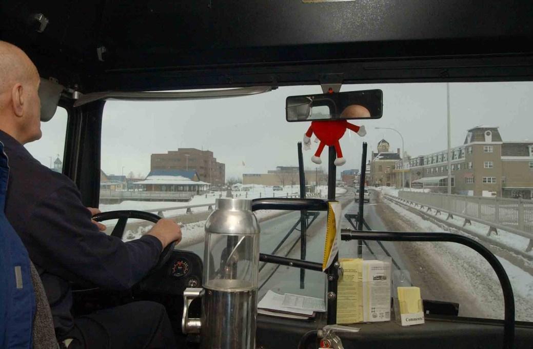 Il y a 13 ans, un projet-pilote d'autobus avait été mis en route à Bathurst, mais l'initiative était tombée à l'eau, faute de clients. - Archives