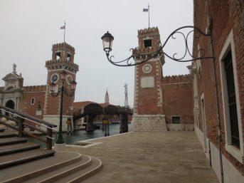 L'imposant Arsenal de Venise est un chantier naval construit en 1104. - Gracieuseté