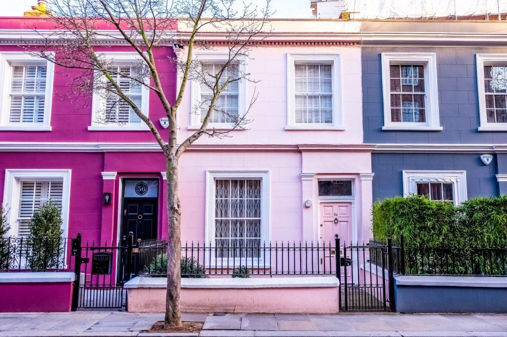 Avec ses maisons aux couleurs pastel, ses petites boutiques et ses cafés, Notting Hill est, à notre avis, l'un des plus beaux quartiers au monde. - Collaboration spéciale: Marie-Michèle Doucet
