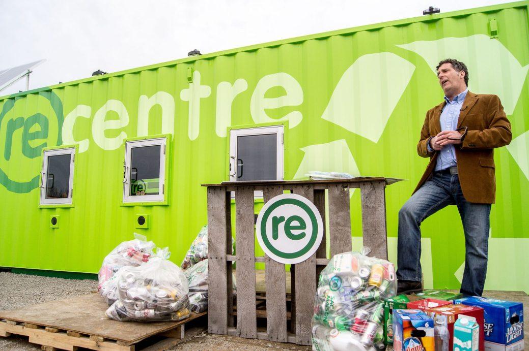 Le projet pilote de centre de recyclage automatisé à Moncton a connu un grand succès. - Archives