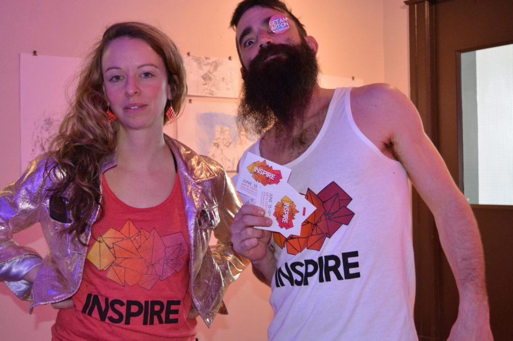 Les organisateur du Festival Inspire, Lisa Griffin et Matthew Williston. - Archives