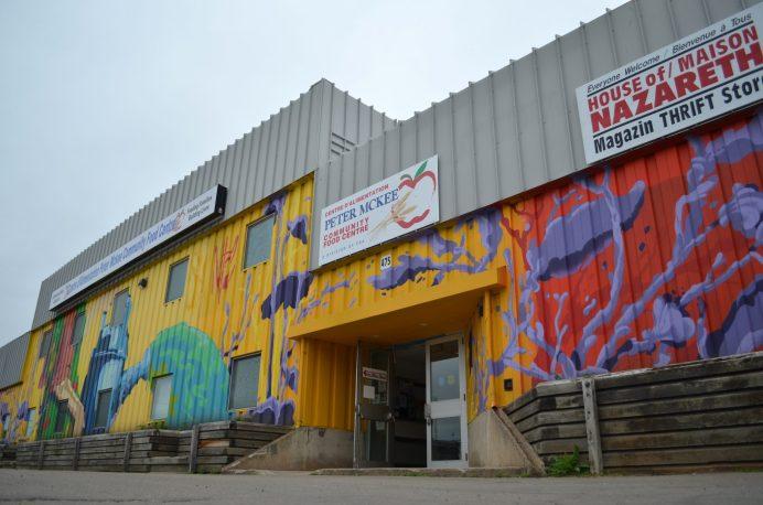 Le Centre d'alimentation communautaire Peter McKee, au centre-ville de Moncton, a été le site d'un vol par effraction. - Acadie Nouvelle: Jean-Marc Doiron