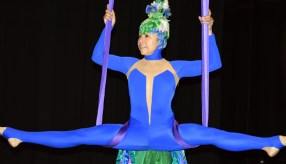 Justy Molinares est l'une des artiste de Circus Stella qui se produira dans le nouveau spectacle de LaB CirK. - Acadie Nouvelle: Sylvie Mousseau