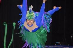 Justy Molinares est l'une des artistes de Circus Stella qui se produit dans le nouveau spectacle de LaB CirK. - Acadie Nouvelle: Sylvie Mousseau