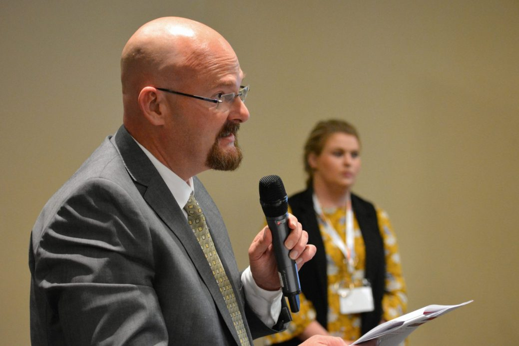 Louis-Philippe Gauthier, directeur des affaires provinciales pour le N.-B. à la Fédération canadienne de l'entreprise indépendante. - Archives