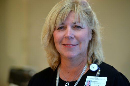 Johanne Roy, vice-présidente aux services cliniques du Réseau de santé Vitalité. - Acadie Nouvelle: Jean-Marc Doiron