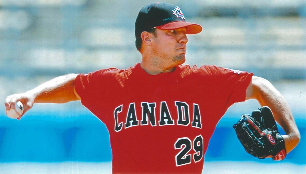 Jason Dickson, de Miramichi, est aujourd'hui président de Baseball Canada. - Archives
