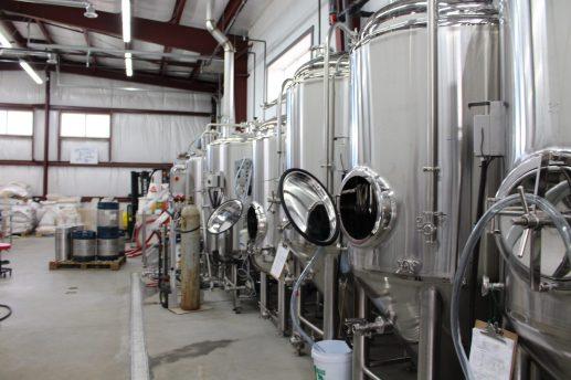 Les installations de la microbrasserie Les Brasseux d'la côte, à Tracadie. - Acadie Nouvelle: Anne-Marie Provost