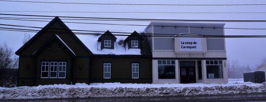 L'ancienne quincaillerie BMR à Caraquet. - Acadie Nouvelle: David Caron