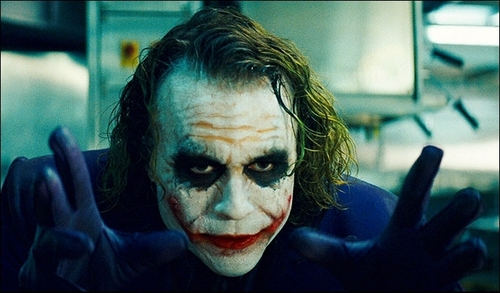 Heath Ledger dans le rôle du Jocker. - Archives