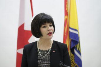 La ministre fédérale de la Santé, Ginette Petitpas Taylor. - Acadie Nouvelle: Patrick Lacelle