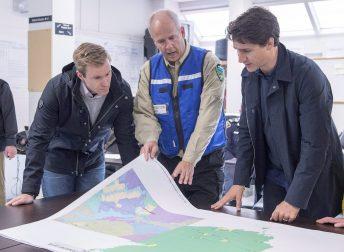 Brian Gallant Justin Trudeau Daniel Michaud