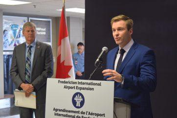 1er mai 2018. Mathieu Roy-Comeau. Le premier ministre du Nouveau-Brunswick, Brian Gallant.