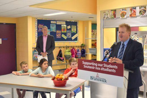 Le ministre de l'Éducation et du Développement de la petite enfance, Brian Kenny. - Acadie Nouvelle:Mathieu Roy-Comeau