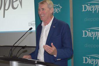 Le maire de Dieppe, Yvon Lapierre. - Acadie Nouvelle: Stéphae Paquette