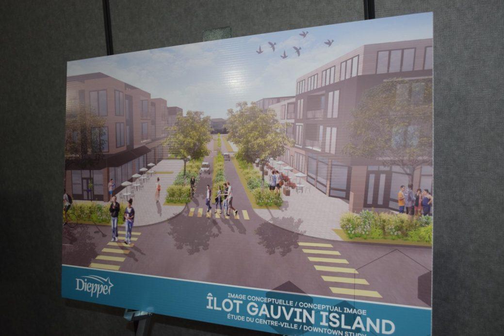 Le projet de l'ilot Gauvin à Dieppe. - Acadie Nouvelle: Stéphae Paquette