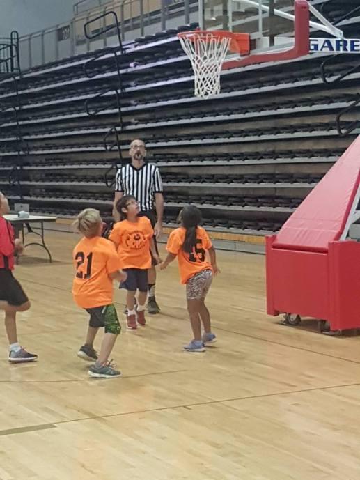 Le basketball est l'un des sports à l'horaire. Les matchs seront présentés au Centre La Fontaine de Néguac. - Gracieuseté