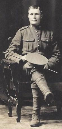 Le soldat John Henry Thomas. - Gracieuseté