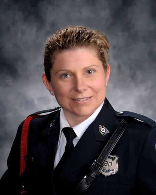Sara Burns - Gracieuseté Police de Fredericton