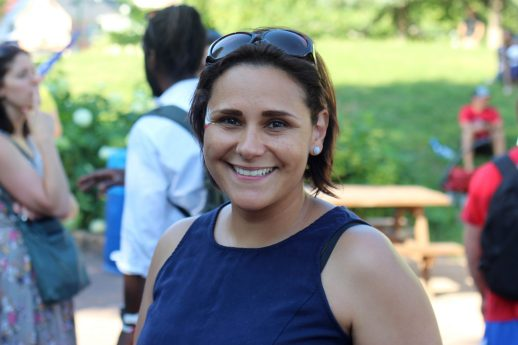 Acadienne d'adoption, Erika Cantu apprécie l'esprit d'esprit inclusif qui habite les participants. - Acadie Nouvelle: Simon Delattre