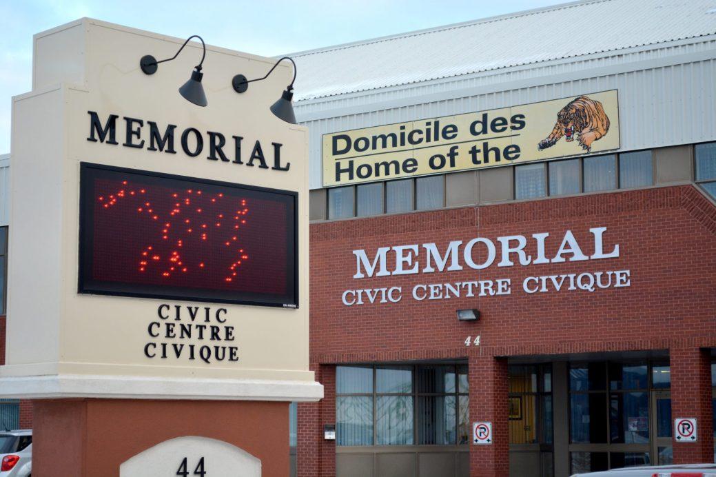 Le Centre civique de Campbellton. - Archives