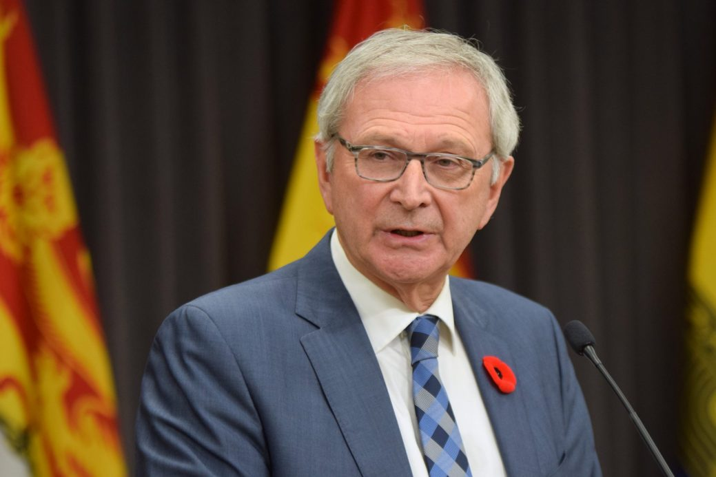 Le premier ministre Blaine Higg. - Archives