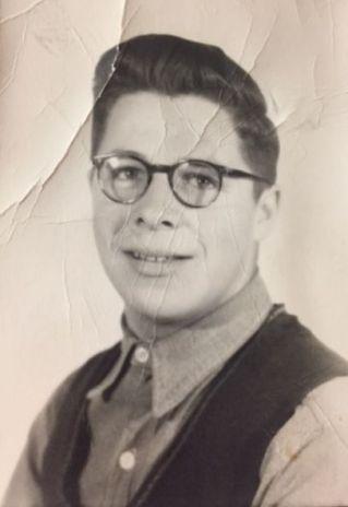 Gilles Lefebvre, à l'âge de 17 ans. - Gracieuseté