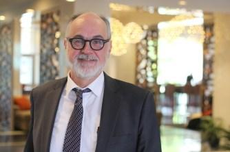 Le Dr Hubert Dupuis, président d'Égalité santé en français. - Archives